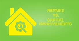Repairs vs Capital Improvements