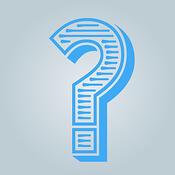 question blue
