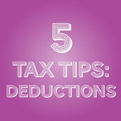 5 tax tips to properly itemize deductions