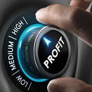 Turn profit up